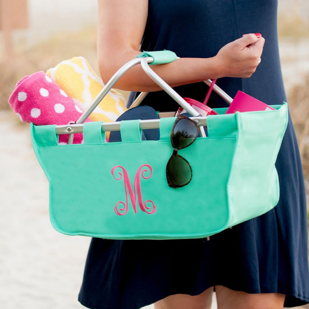 Mint Market Tote - Perfect for the Beach