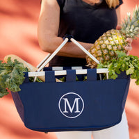 Navy Market Tote - The possibilities are endless!
