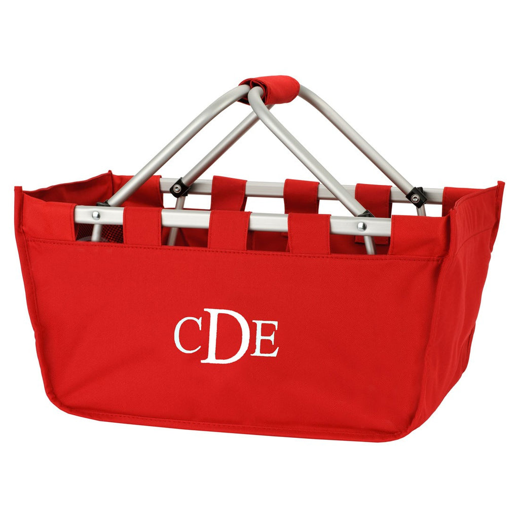 Red Market Tote - Personalize it!