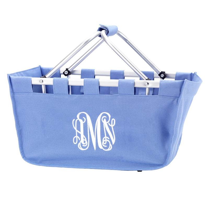 Blue Hydrangea Market Tote - Personalize it - Makes a great gift!