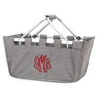 Houndstooth Market Tote - The perfect gift!