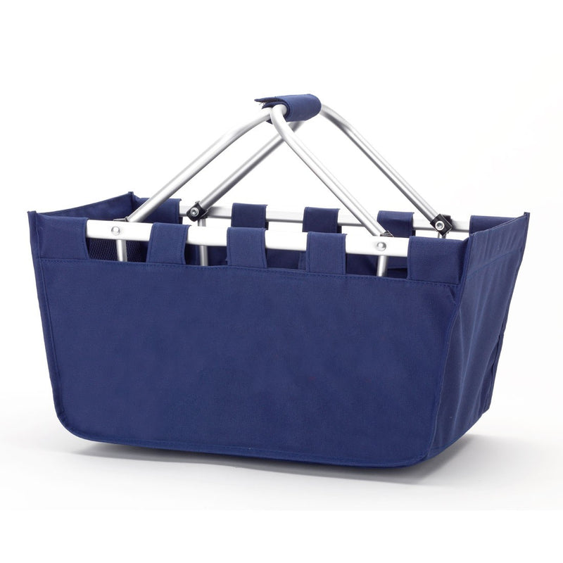 Navy Market Tote - Plain or embroidered options