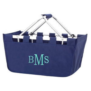 Navy Market Tote - Monogram it!