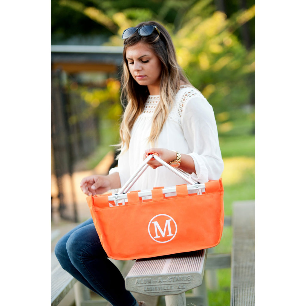 Orange Market Tote - Personalize it!
