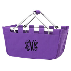 Purple Market Tote - Personalize it!