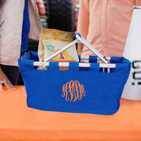 Royal Blue Market Tote - Ready for Game Day!