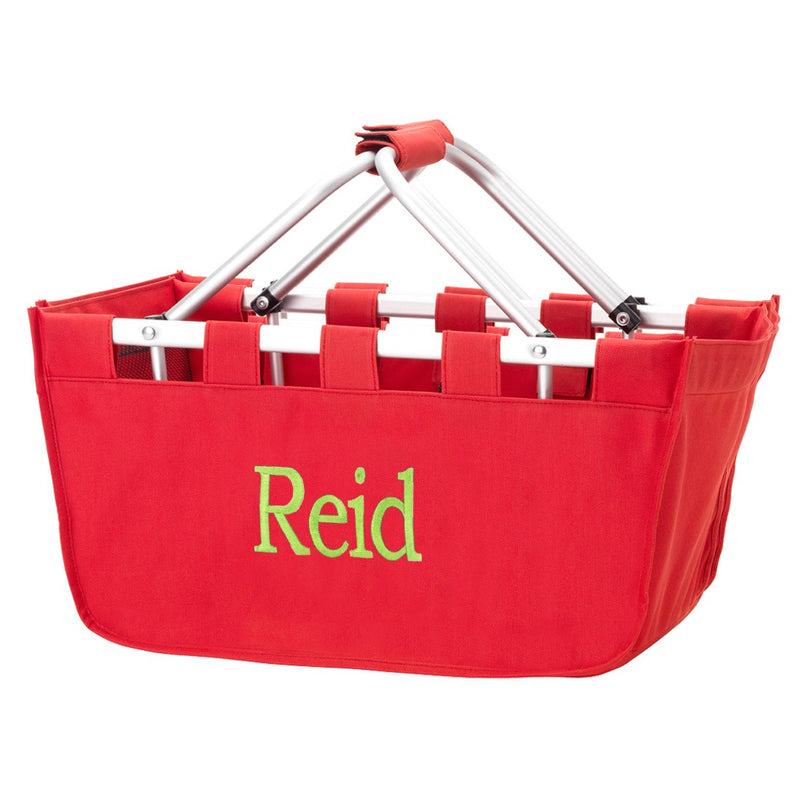 Red Market Tote - Graduation Gifts