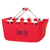 Red Market Tote - A Tailgating Must Have!