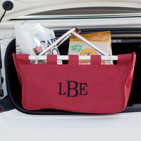 Garnet Market Tote - Great for Traveling