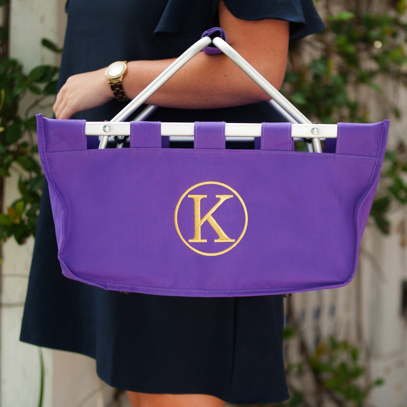 Purple Market Tote - The perfect gift!