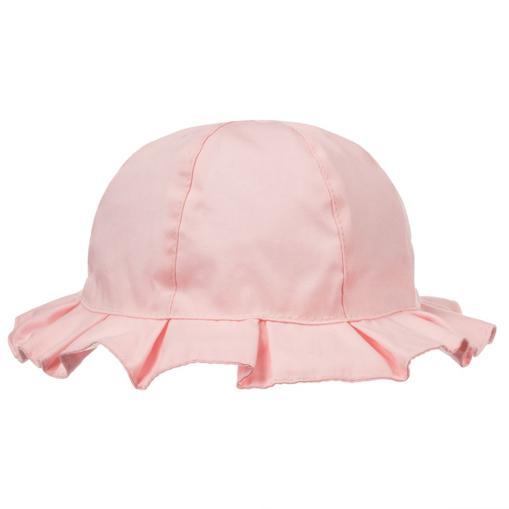 Light Pink Twill Sun Hat