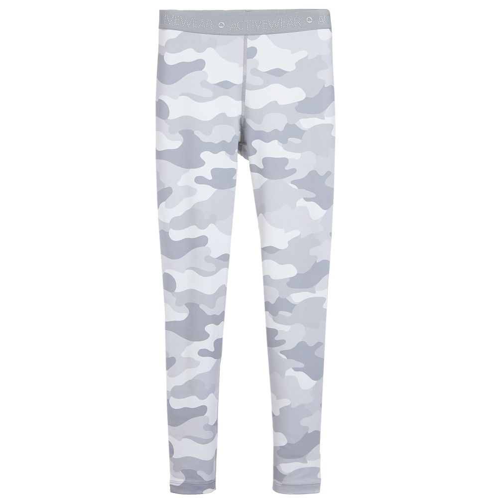 Grey Camouflage Leggings