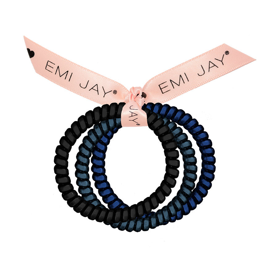 Midnight 3-Pack Hair Ties
