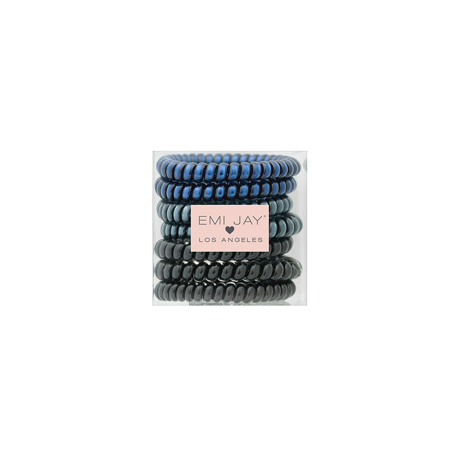 Midnight 7-Pack Hair Ties