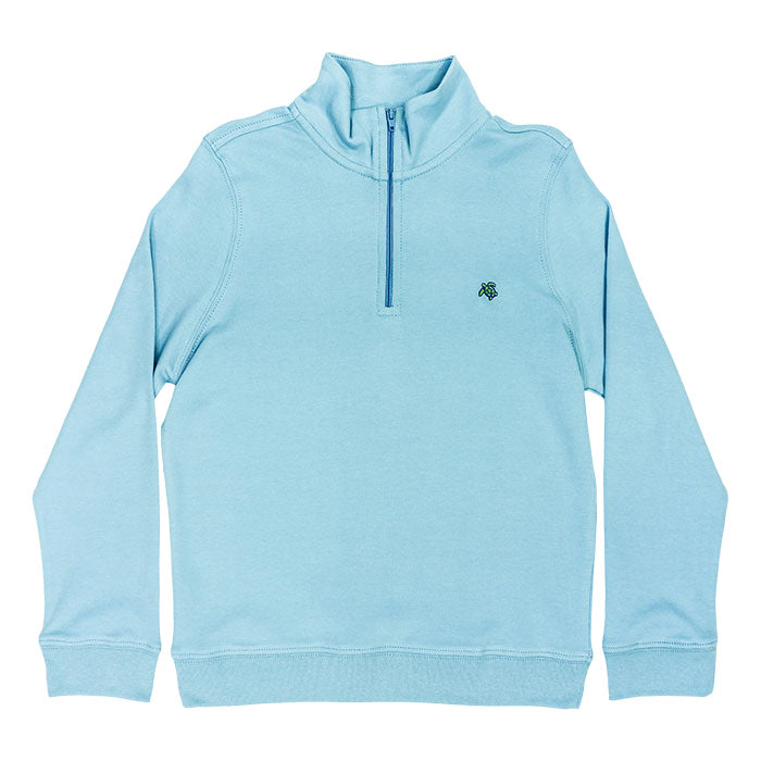 The J Bailey Glenn Half Zip in Ocean Blue