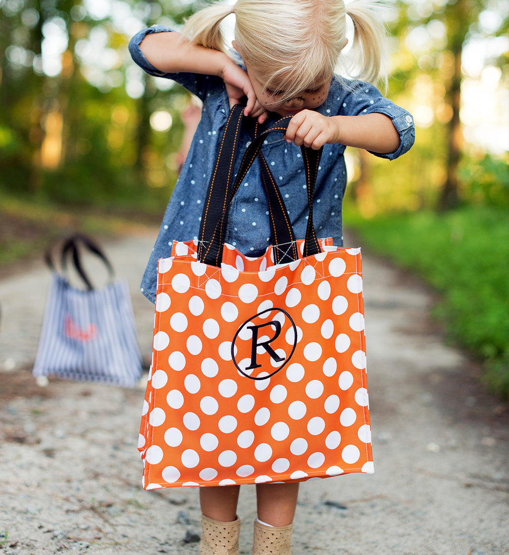 Orange Dot Tote