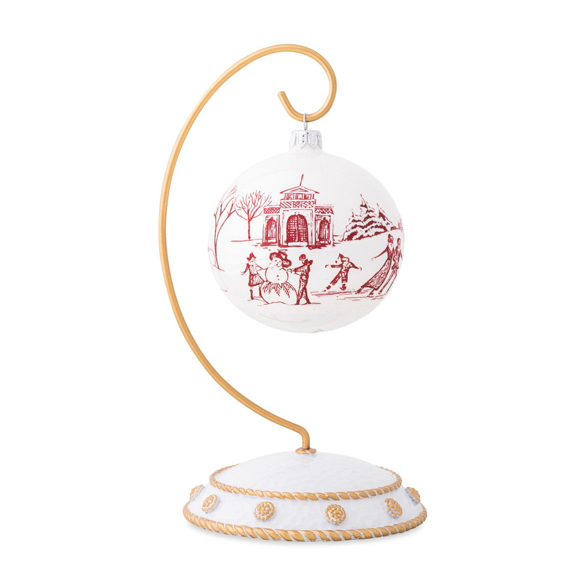 Country Estate Winter Frolic Ruby Glass Ornament 2020 Limited Editio K K S Giving Tree