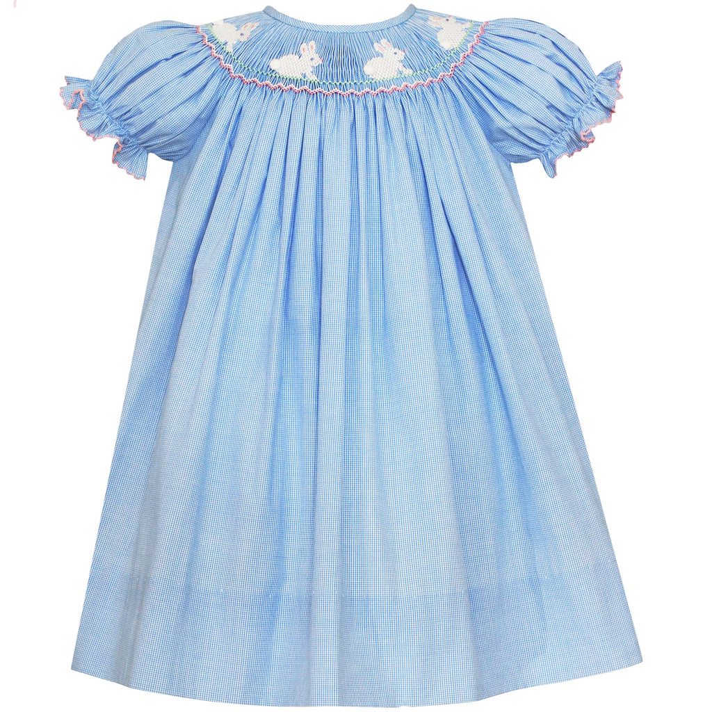 Hop Hop Smocked Bunny Bishop Dress