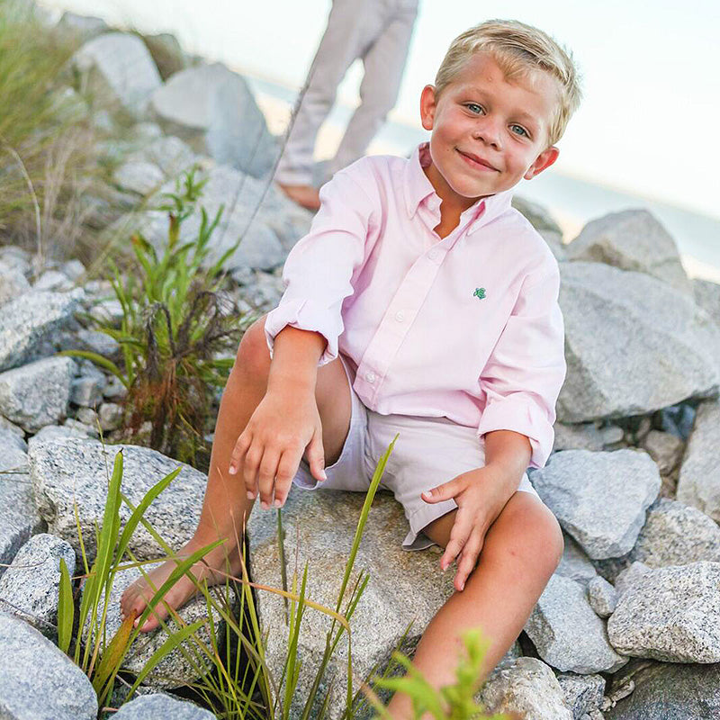 Bailey Boys - Pink Oxford Button Down Shirt - kkgivingtree - K&K's Giving Tree