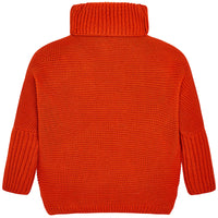 Rust Oversized Sweater