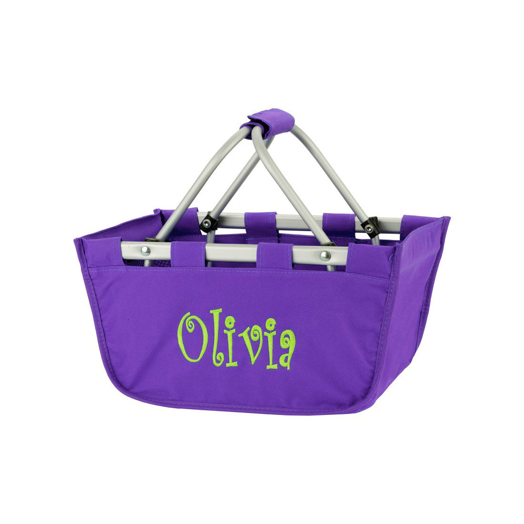 Purple Mini Market Tote