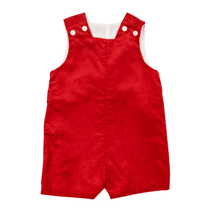 The Classic Red Corduroy Collection Boys John John Short with Tabs