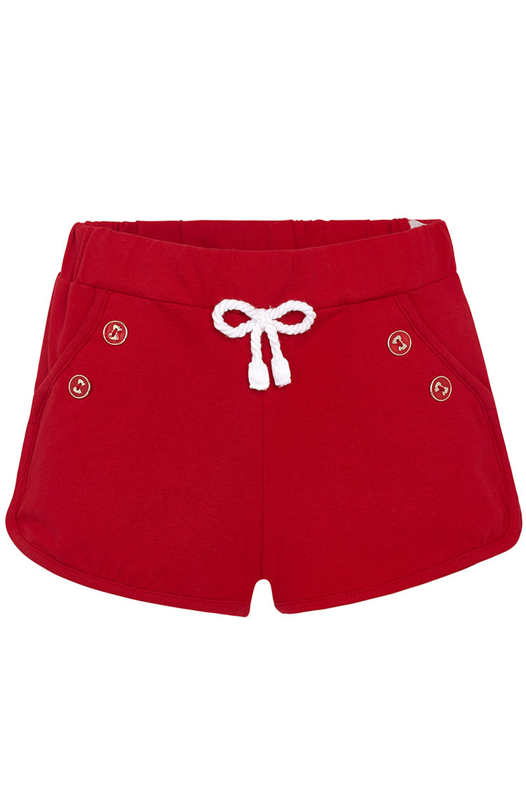 Mayoral - Red Knit Shorts - kkgivingtree - K&K's Giving Tree