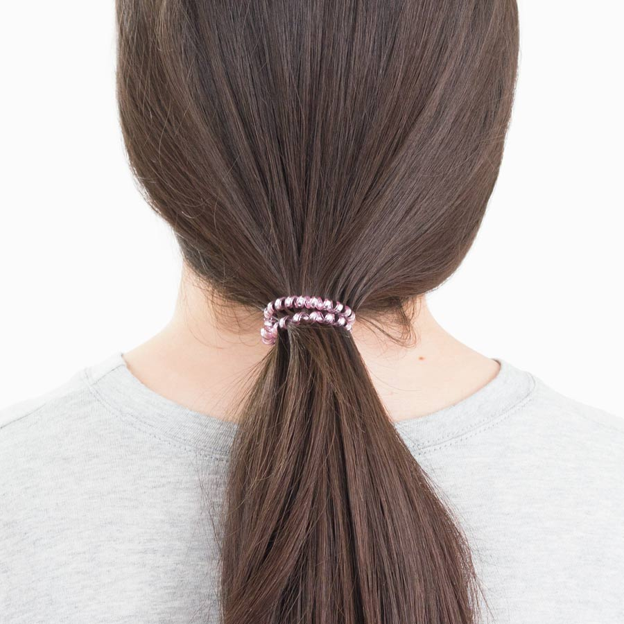 Pink Ombre 3-Pack Hair Ties
