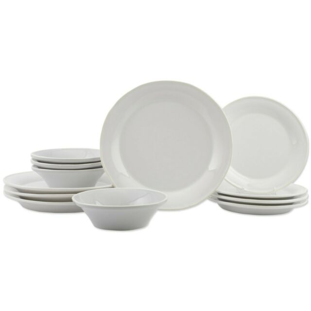 Chroma White 12-Piece Place Setting