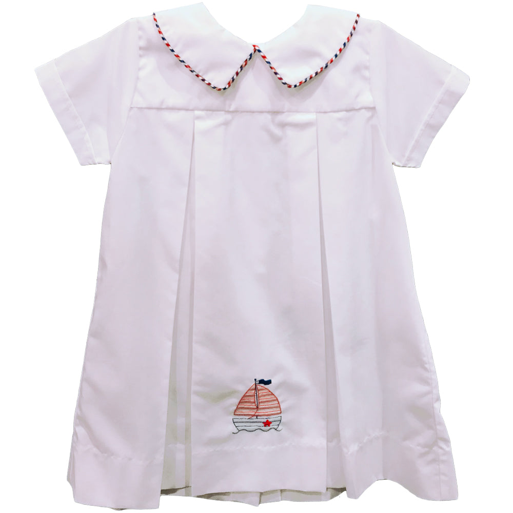 Boys Sailboat Daygown