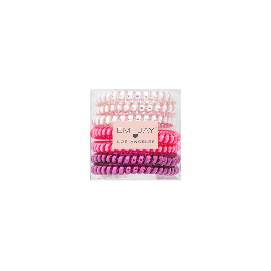 Tickled Pink 7-Pack Hair Ties