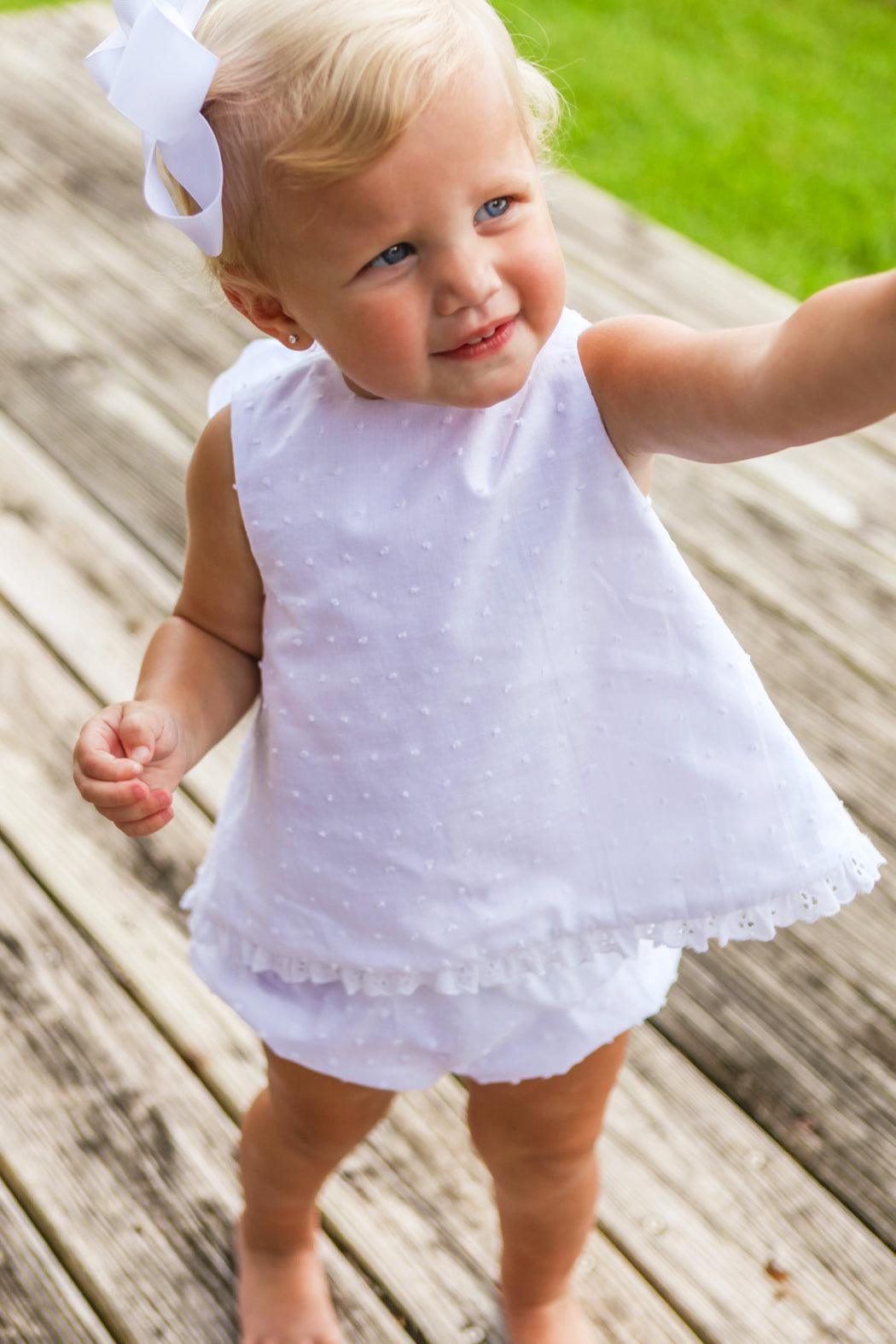 Dottie Swiss Angel Dress with Bloomer