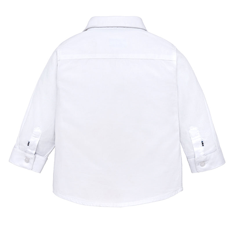 White Long Sleeve Button Down Shirt