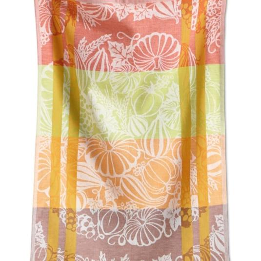Harvest Jacquard Cotton Dish Towel