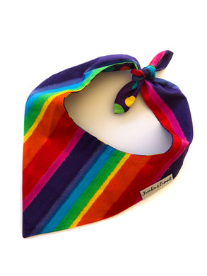 Rainbow Reversible Bandana