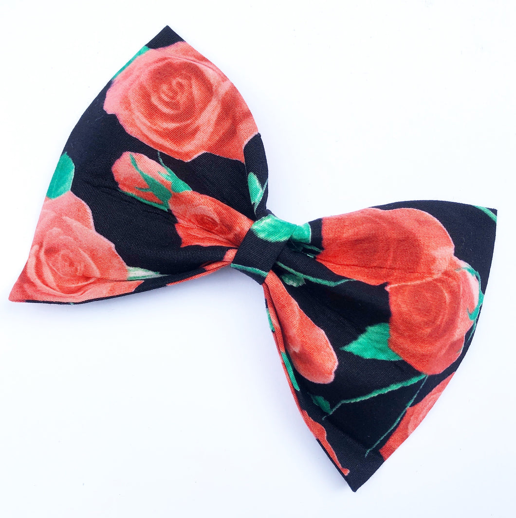Rose Bow Tie