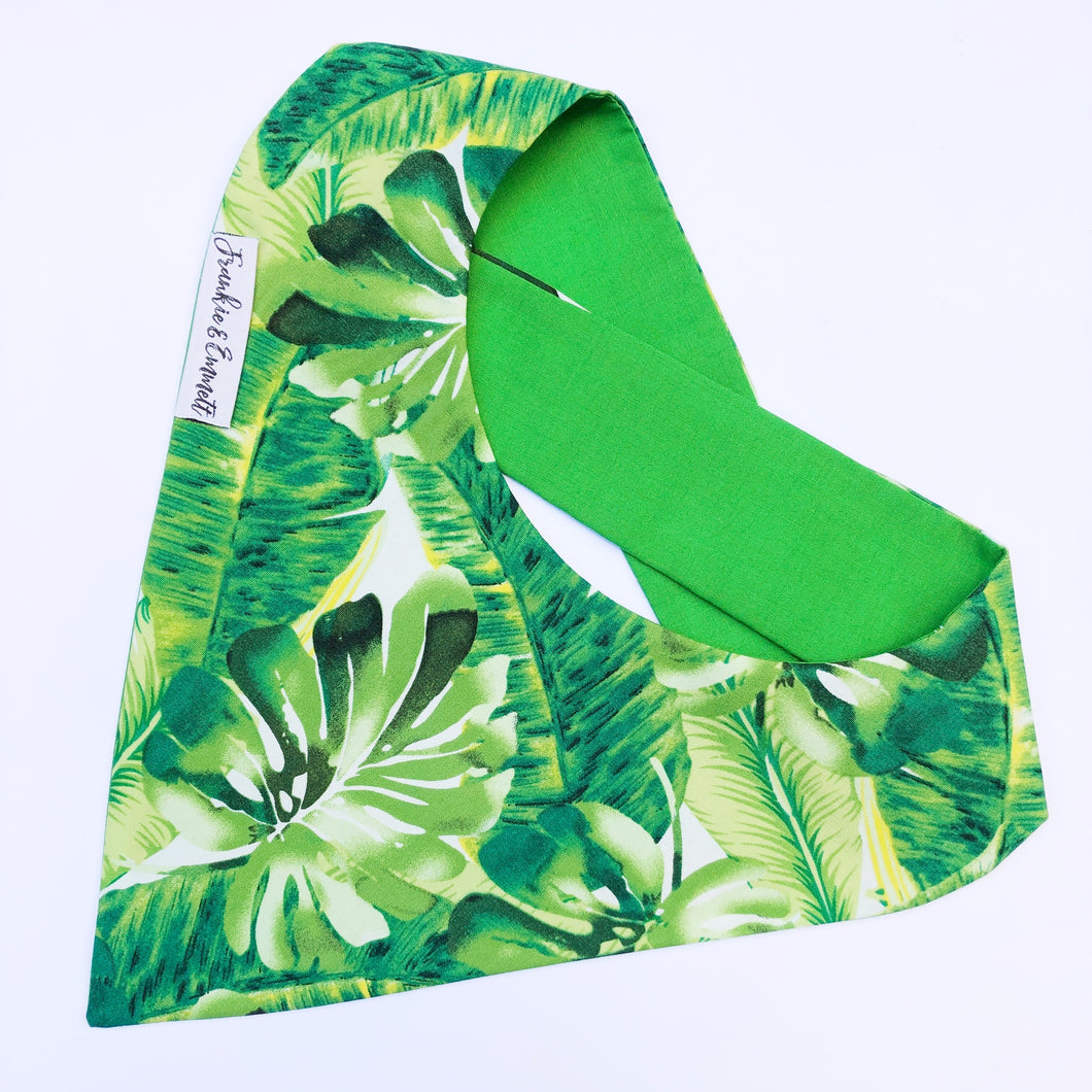 Monstera Reversible Bandana