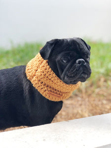Pooch Snood in Peach Trees