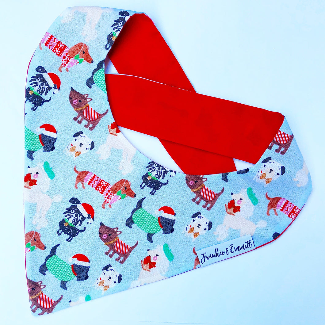 Kris Kringle Christmas Bandana
