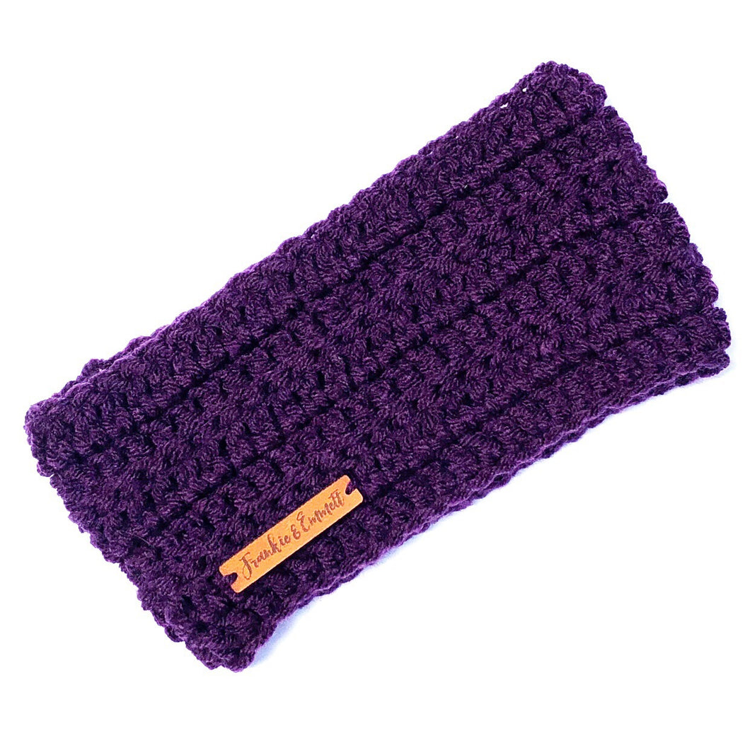 Pooch Snood in Purple Rain