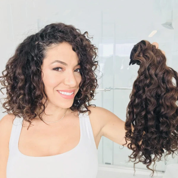 How To Clip In Your Curly Clip In Hair Extensions
