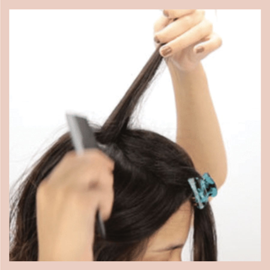 How to blend clip-in Bebonia extensions with fine hair