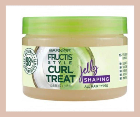 garnier leave in styler curly hair