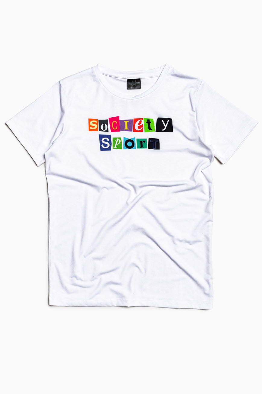 SOCIETY SPORT MAGAZINE T-SHIRT