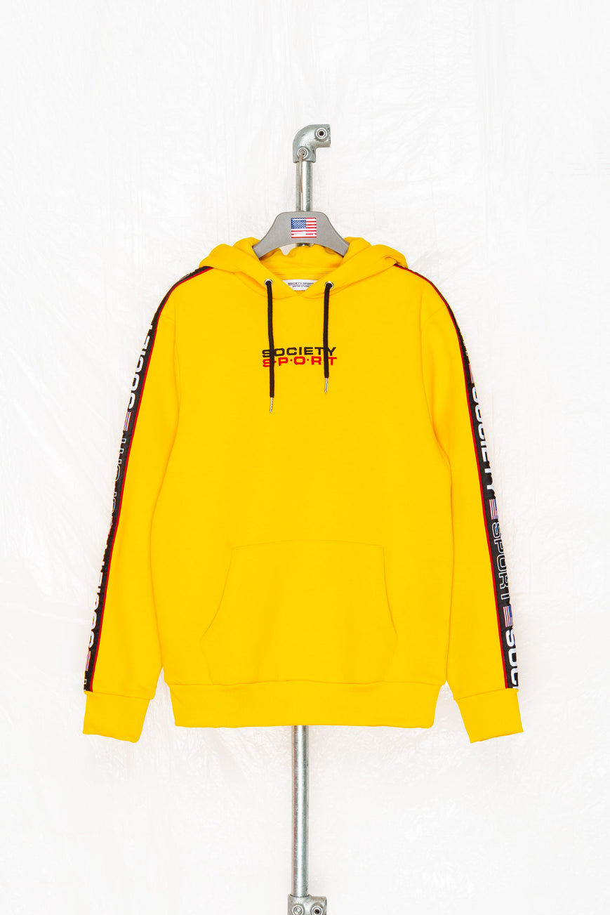 SOCIETY SPORT MANGO TAPED PULLOVER
