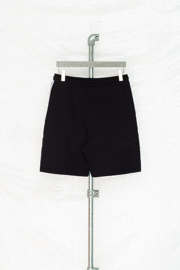 SOCIETY SPORT BLACK TAPED SHORTS