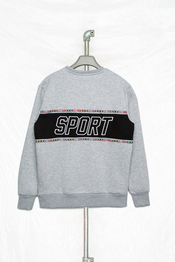 Society Panel Men's Crewneck