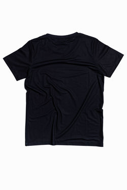 SOCIETY SPORT BLACK MAGAZINE LOGO T-SHIRT
