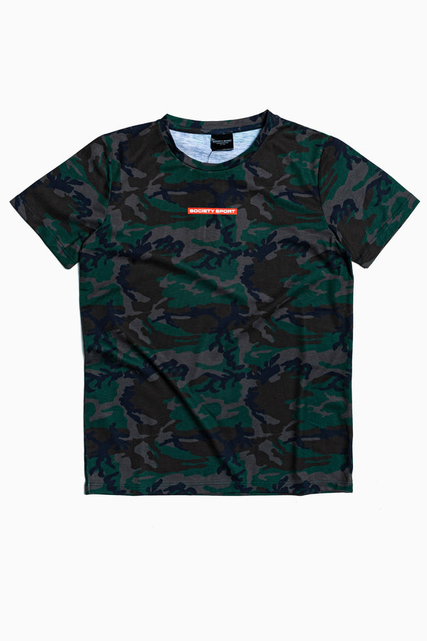 SOCIETY SPORT TRUE CAMO T-SHIRT