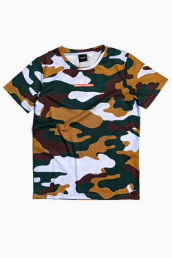 SOCIETY SPORT FOREST CAMO T-SHIRT